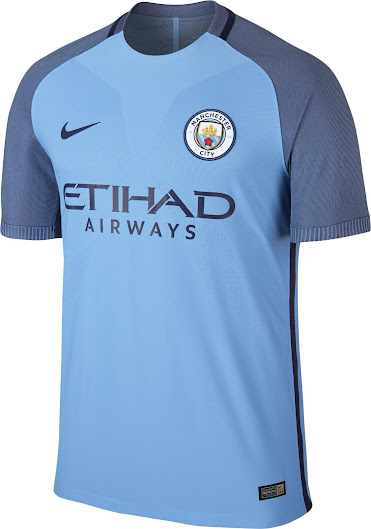 new arrival 9e43a fb236 Manchester City 16-17 Home Kit Released - Footy Headlines