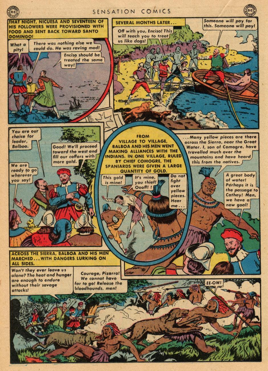 Read online Sensation (Mystery) Comics comic -  Issue #36 - 28