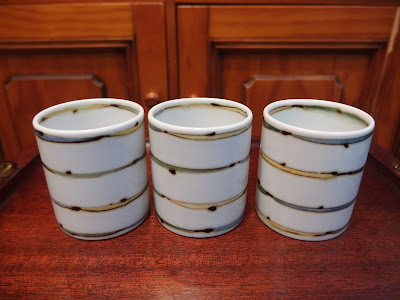 白山陶器 セピアライン 湯呑 HAKUSAN