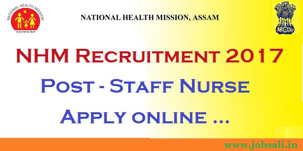 Assam govt jobs, national health mission, jobs in Guwahati