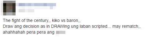 Juan Staged Fight! Baron Geisler and Kiko Matos Fight was Scripted? What Do You think?