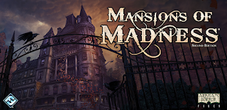 Mansions of Madness by Fantasy Flight Games Box Art