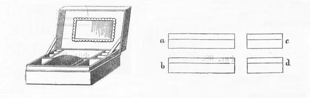 Как сделать картонную шкатулку