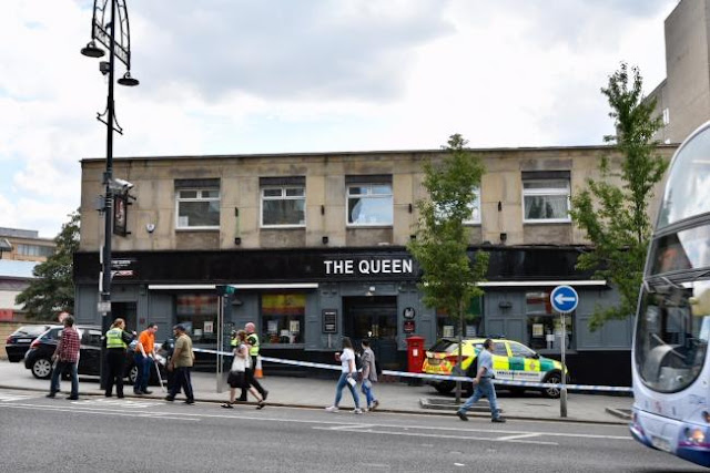 Man stabbed outside The Queen pub in city centre