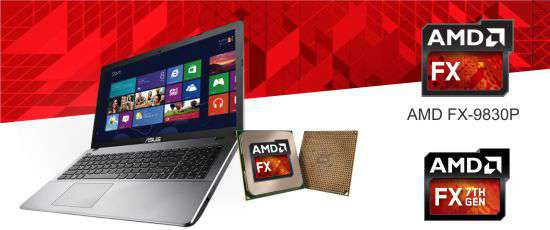 laptop asus gaming x550ik amd fx performa tinggi