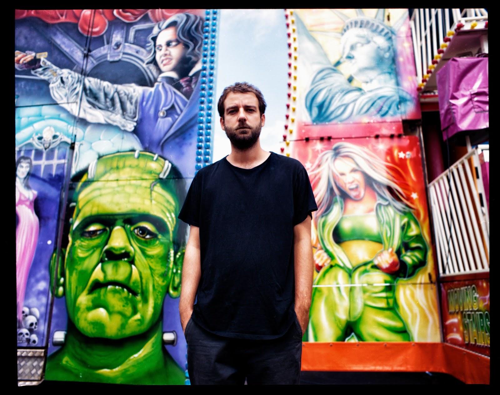 Deptford Goth Singer/Songwriter New Album Graffiti background smooth
