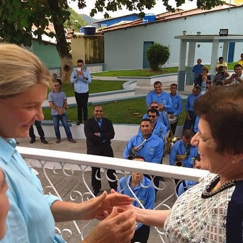 Primeira-dama de São Paulo se encanta com Piranhas e parabeniza realização do Forrogaço