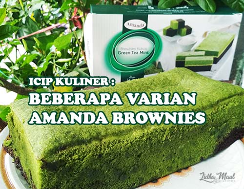Amanda Brownies Balikpapan - Greean Tea