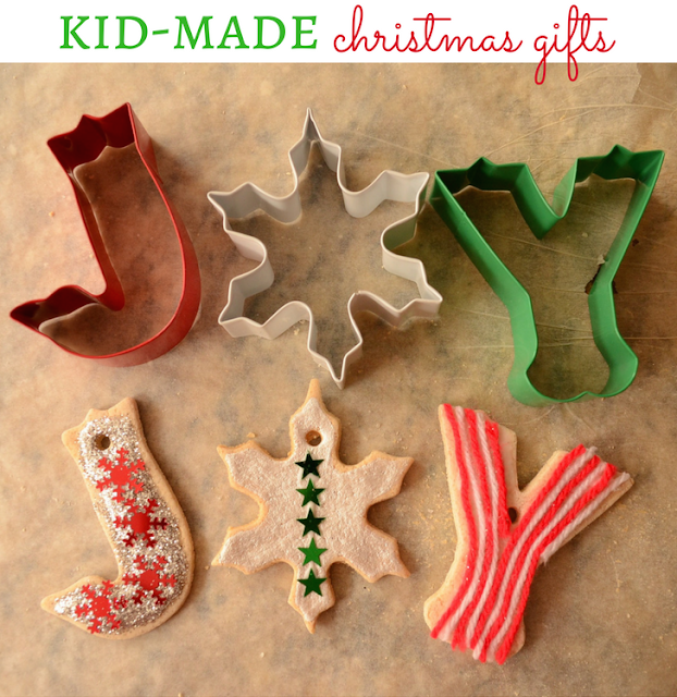 Kid-Made Christmas Gifts: Salt Dough Ornaments, Make a little something, for someone you love