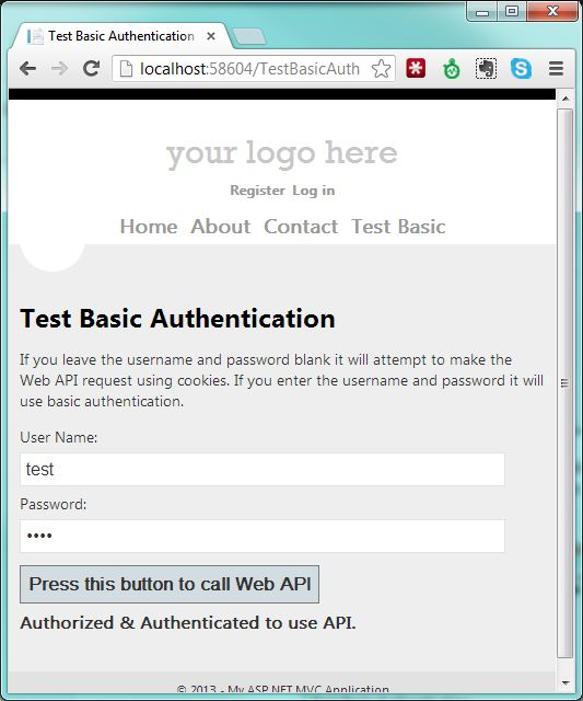 Mixing Forms Authentication, Basic Authentication, and