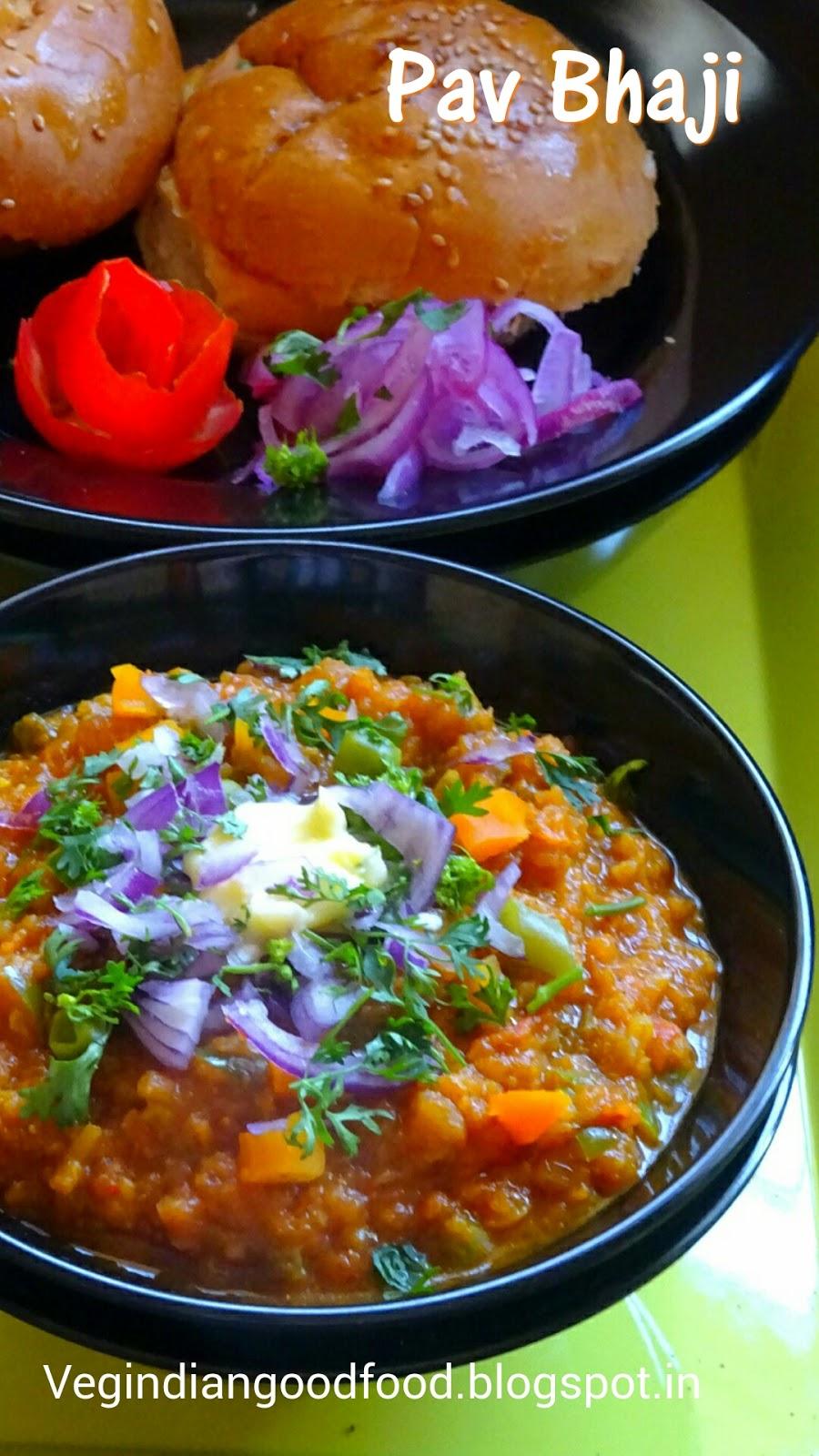 how to make delicious pav bhaji