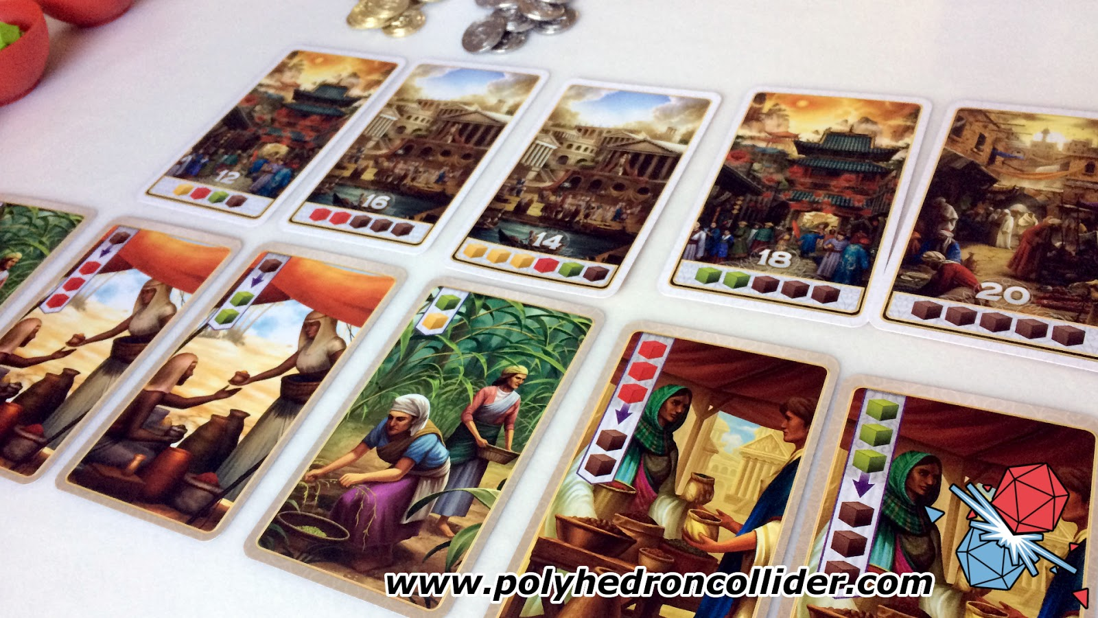 Century Spice Road review spice trading board game