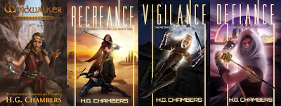 The Aeternum Chronicles by H.G. Chambers is available on Amazon
