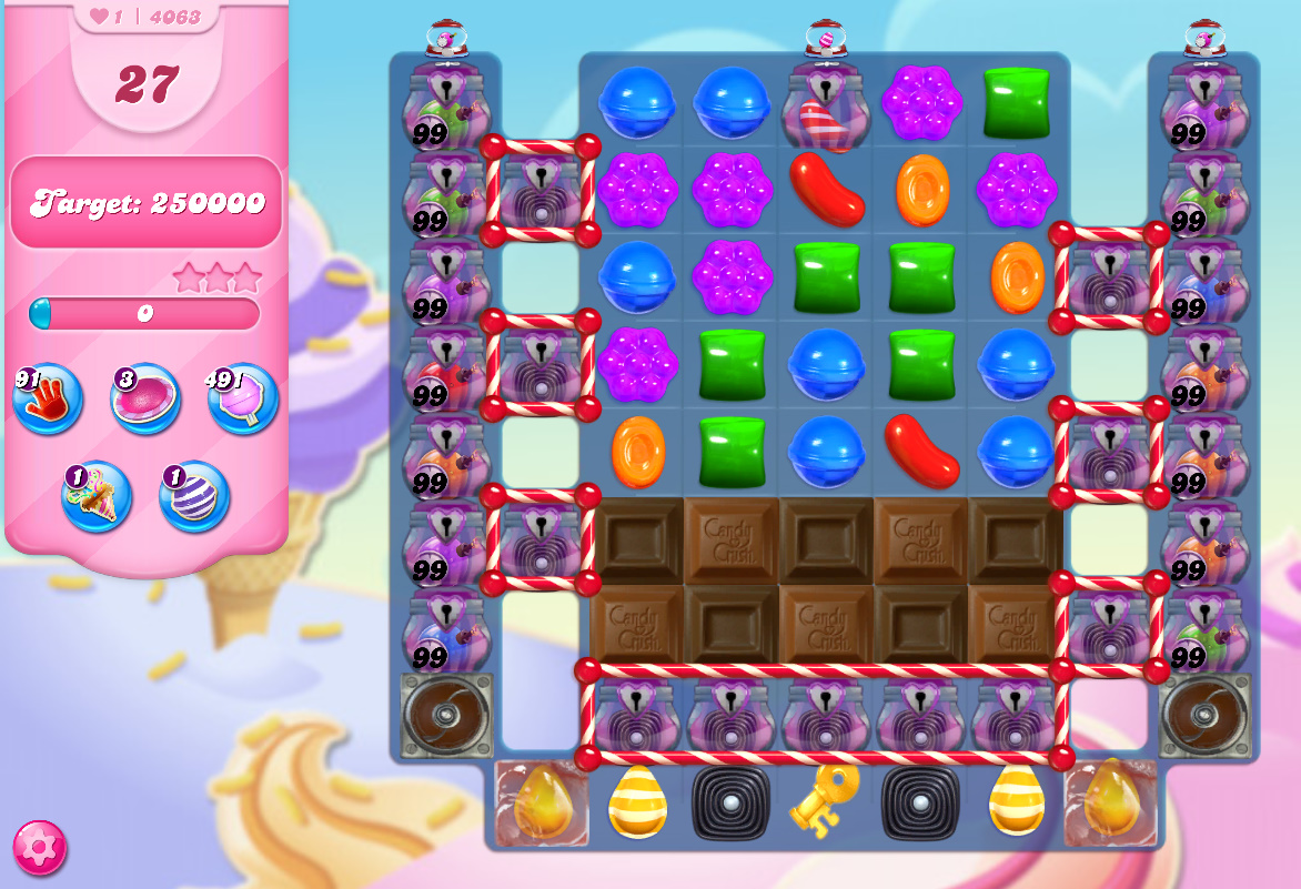 Candy Crush Saga level 4063