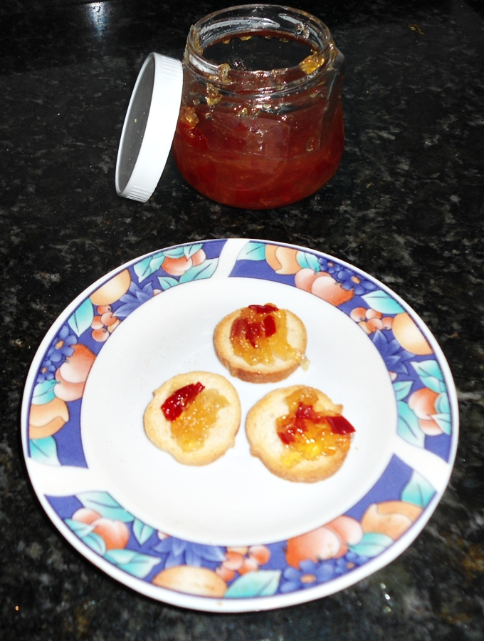 geleia de pimenta caseira