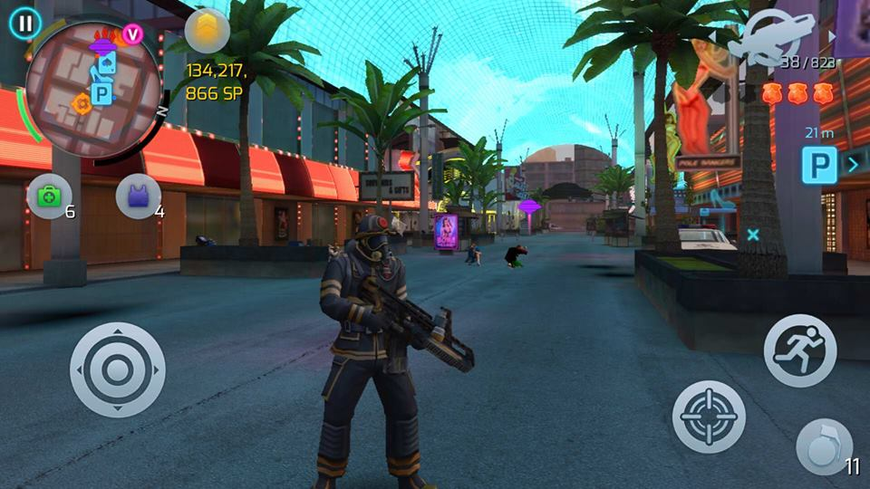 gangstar vegas free game by gameloft open world game android offline