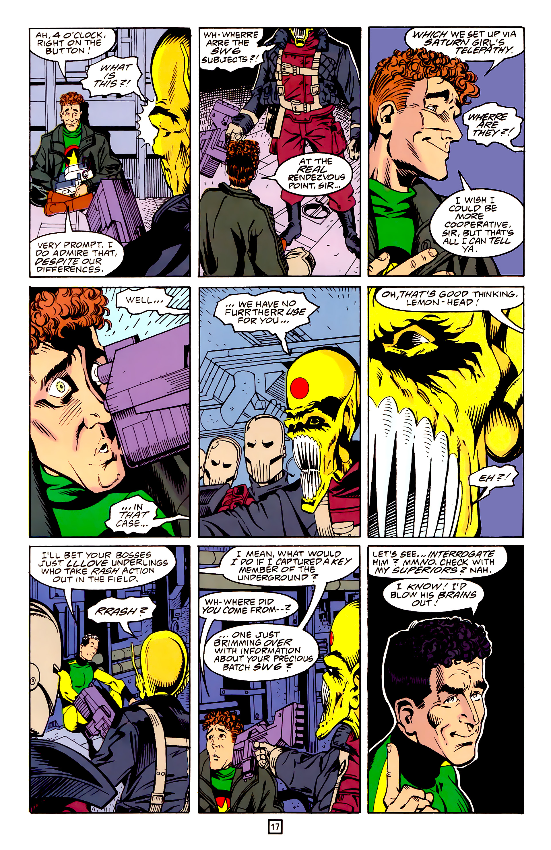 Legion of Super-Heroes (1989) 25 Page 17