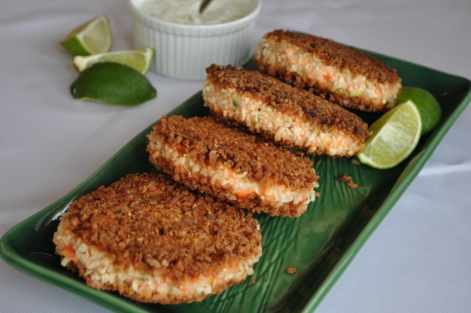 Parade Salmon Fish Cakes Recipe