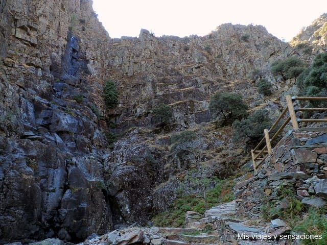Cascada de la Miancera, El Gasco, Hurdes
