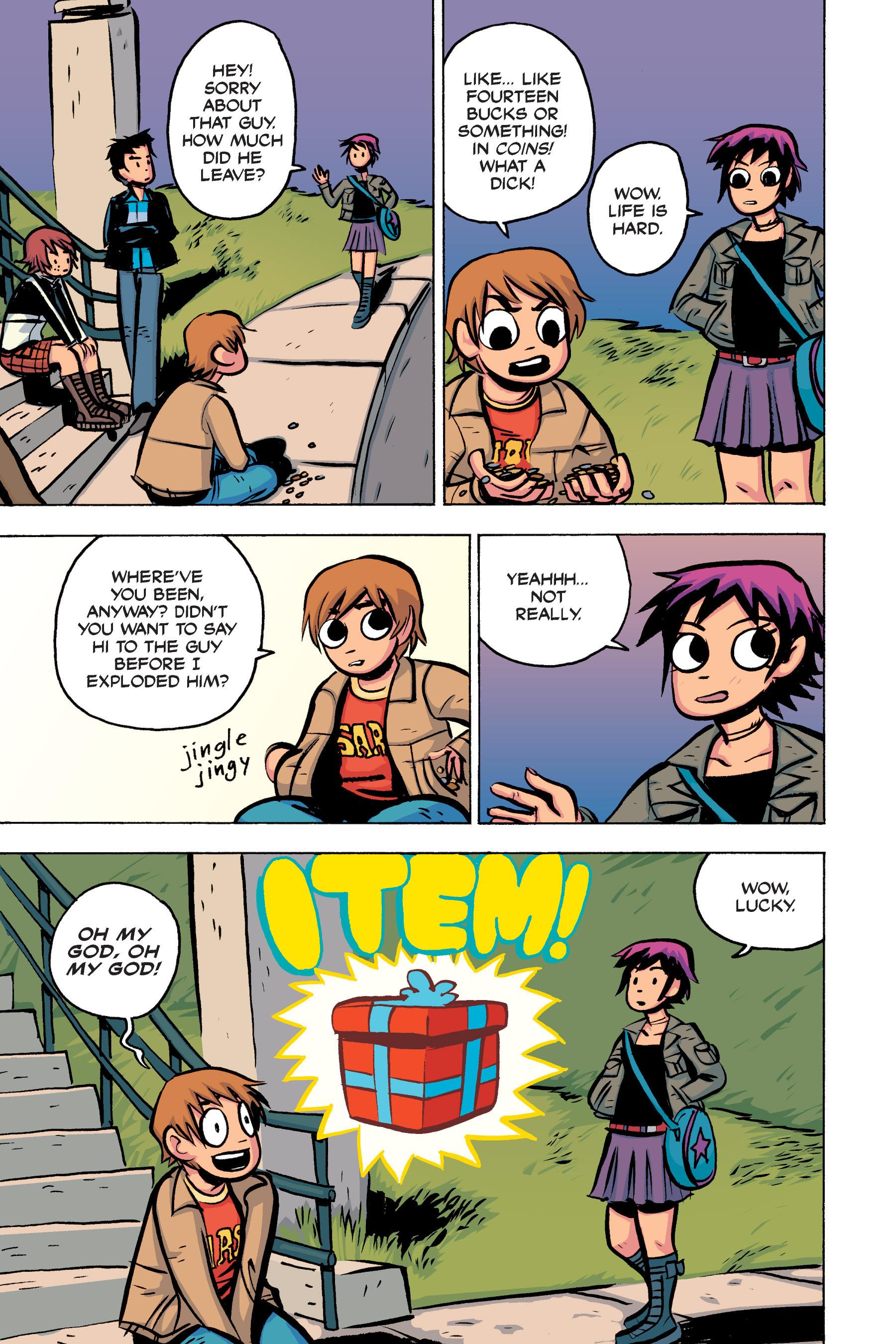 Read online Scott Pilgrim comic -  Issue #2 - 122
