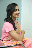 Actress Ritu Varma Pos in Beautiful Pink Anarkali Dress at at Keshava Movie Interview .COM 0277.JPG