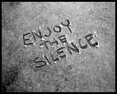 Thirty Days of Gratitude, Day 8: The Sounds of Silence