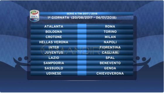 Serie A Italia Rilis Jadwal Musim 2017/2018