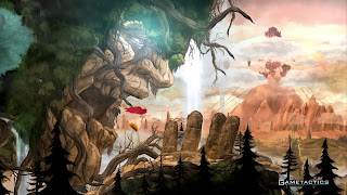 Child of Light PS Vita Background