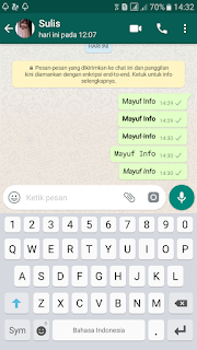 Cara Membuat Tulisan Bervariasi Di WhatsApp Terbaru