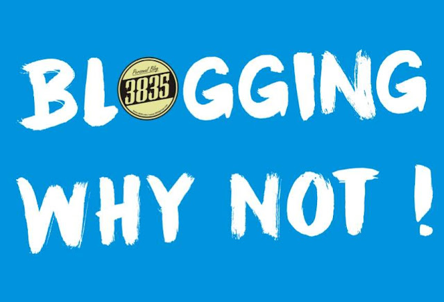 Blogging Why Not