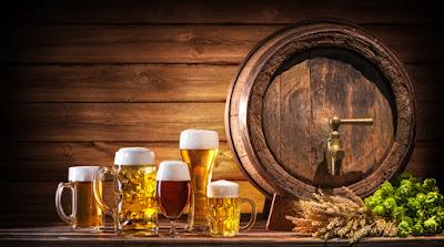 Barriles de cerveza que solían ocultarse en la época de prohibición de la cerveza en Islandia