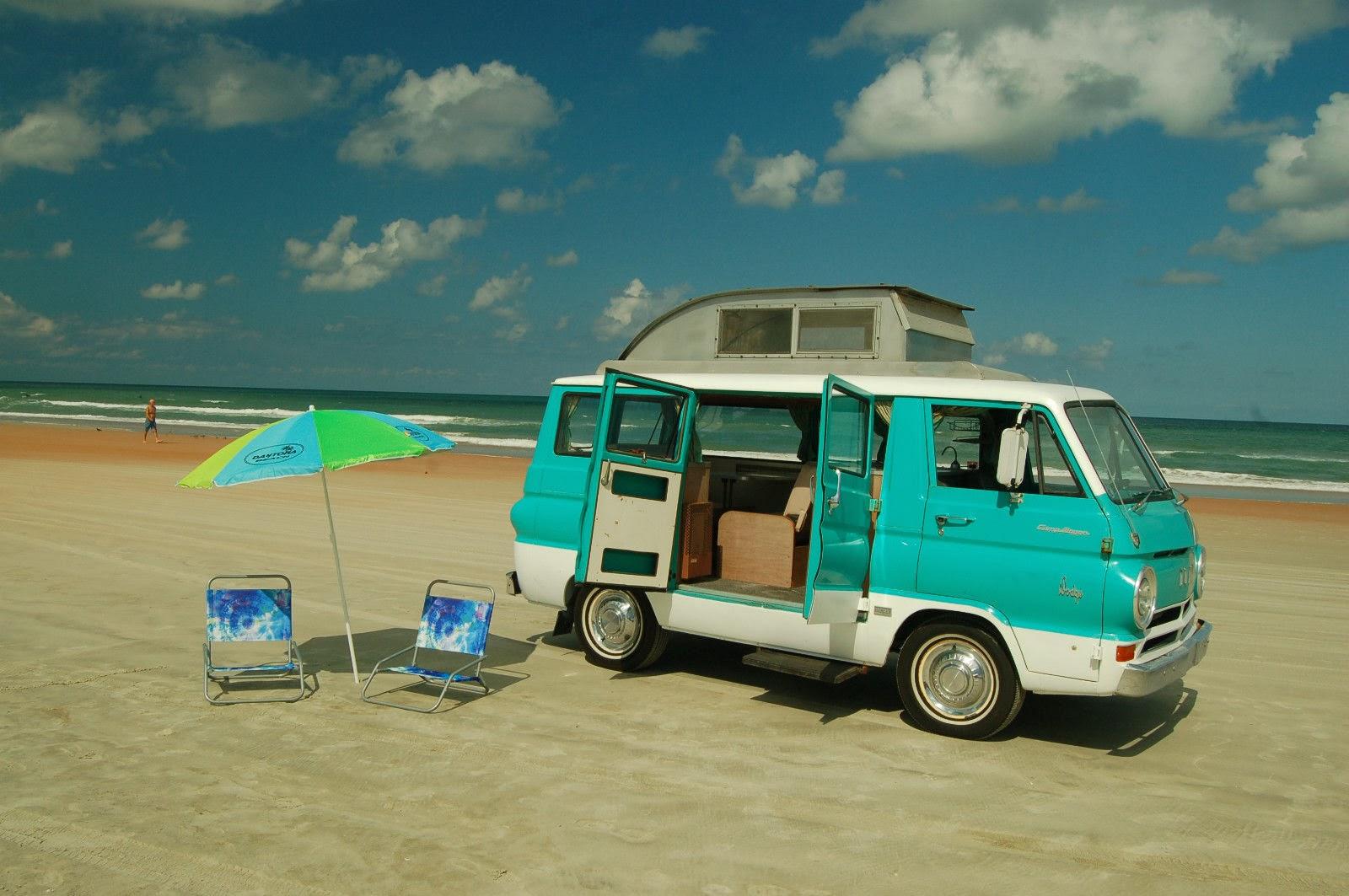 Daily Turismo: 5k: Pop Up Camper: 1966 Dodge A100 Sportsman