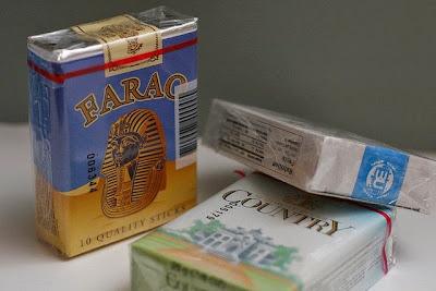 Chocolade sigaretten