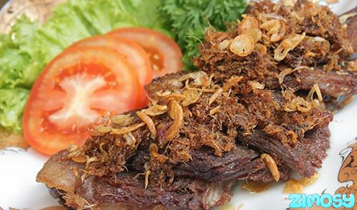 Resep Menu Buka Puasa Masakan Empal Daging Goreng