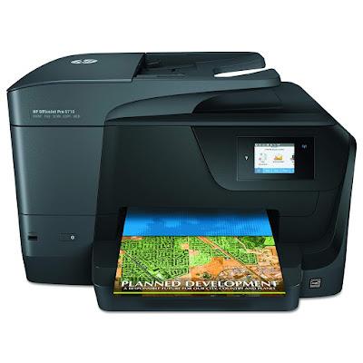 One Wireless Printer alongside Mobile Printing HP OfficeJet Pro 8710 Driver Downloads