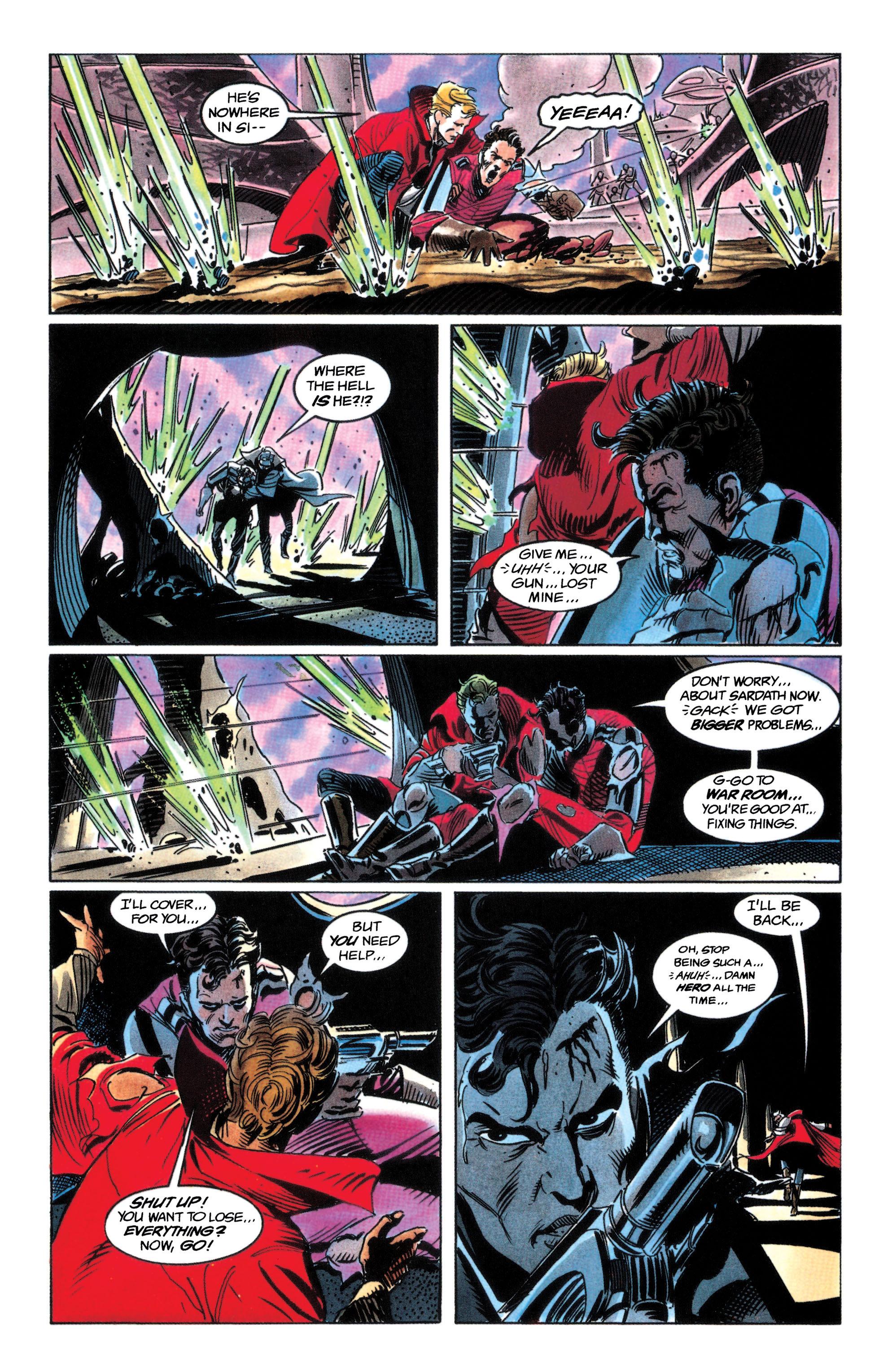 Read online Adam Strange (1990) comic -  Issue #3 - 21