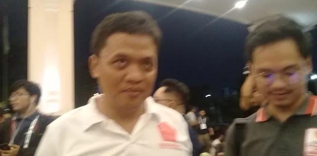 Datang ke Lokasi Debat, Habiburokhman: Rommy Mana, Ada yang Lihat Pak Rommy?
