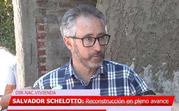 Salvador Schelotto - Director Nacional de Viviendas