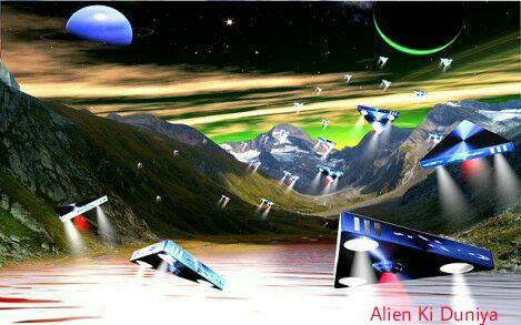 झील से निकला उड़न-तश्तरी - UFO Inside Lake Story in hindi