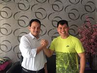 Chris John Dukung Pengusaha ini  Majukan Olahraga di Jateng