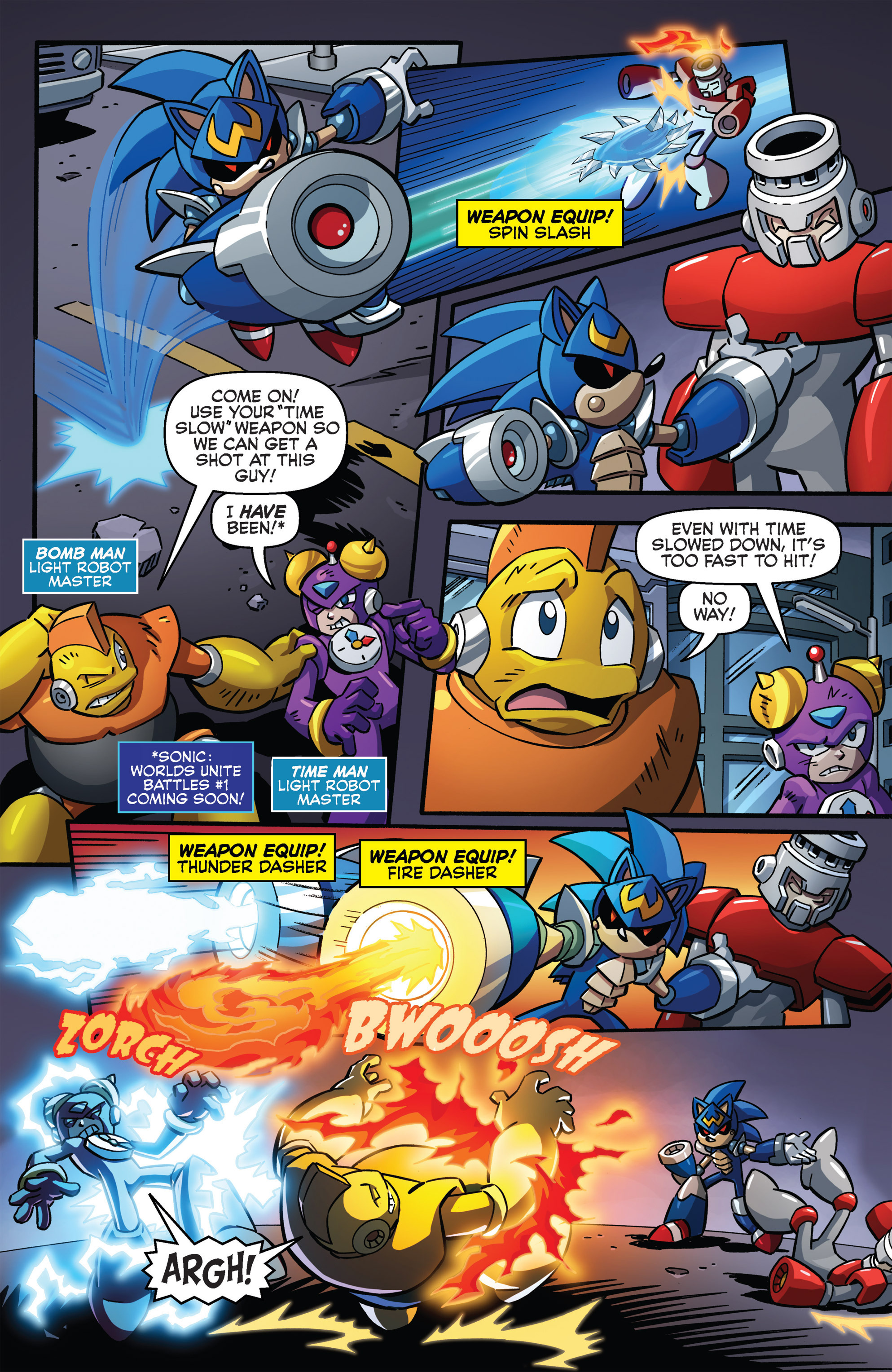 Read online Sonic The Hedgehog comic -  Issue #273 - 4