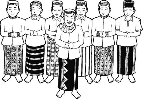 Teks Bacaan Bilal Shalat Tarawih Dan Witir Semua Rakaat Lengkap Bahasa Latinnya