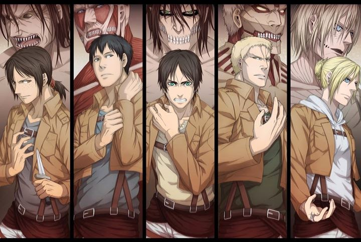 attack on titan season 2 titan image