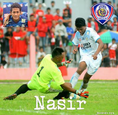 gambar Profil Biodata Foto Pemain Muda Arema FC Nasir