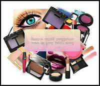 Hobby menggunakan make up setiap hari? Waspada bahayanya!