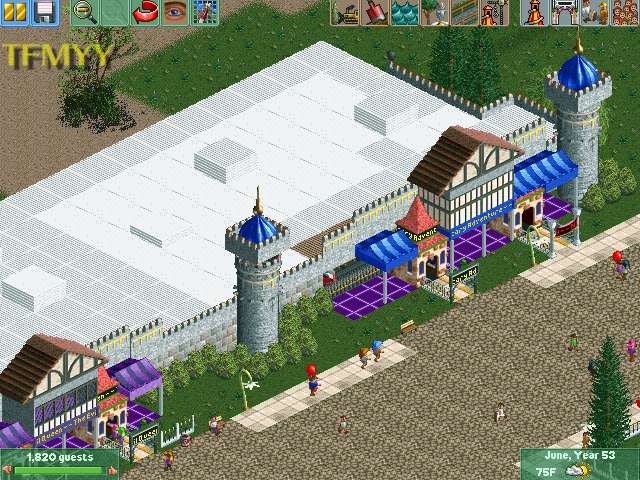 The Fenwright Museum of YesterYear: Rollercoaster Tycoon