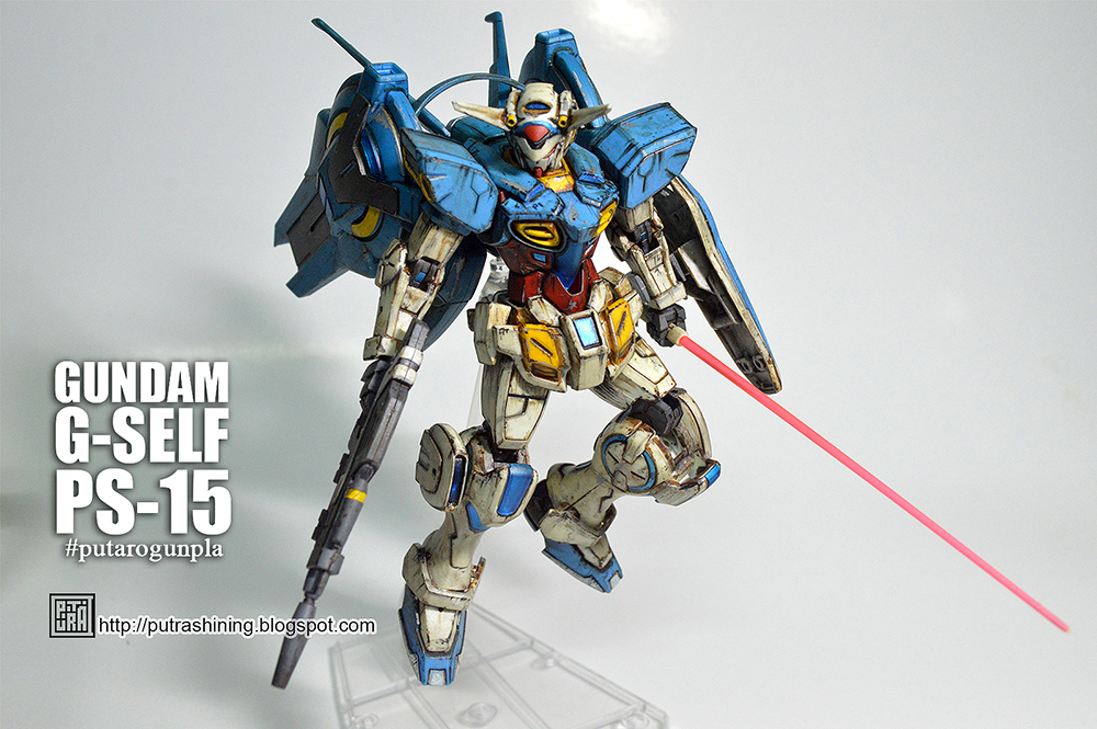 HG 1/144 GUNDAM G-SELF Custom Paint by Putra Shining
