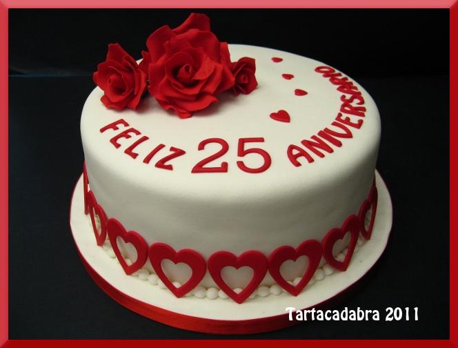 Pastel De Boda 25 Aniversario Pastel De Boda 25