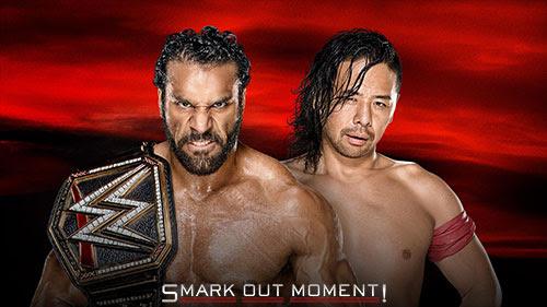 Jinder Mahal vs Shinsuke Nakamura (Smarkout Moment)