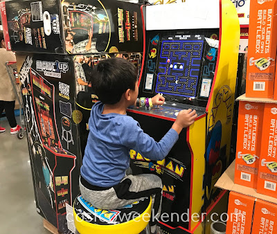 Costco 1325901 - Continue to play classic video games with Arcade1Up Mini Arcade Machines